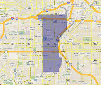 Colorado Senate District 34 Map